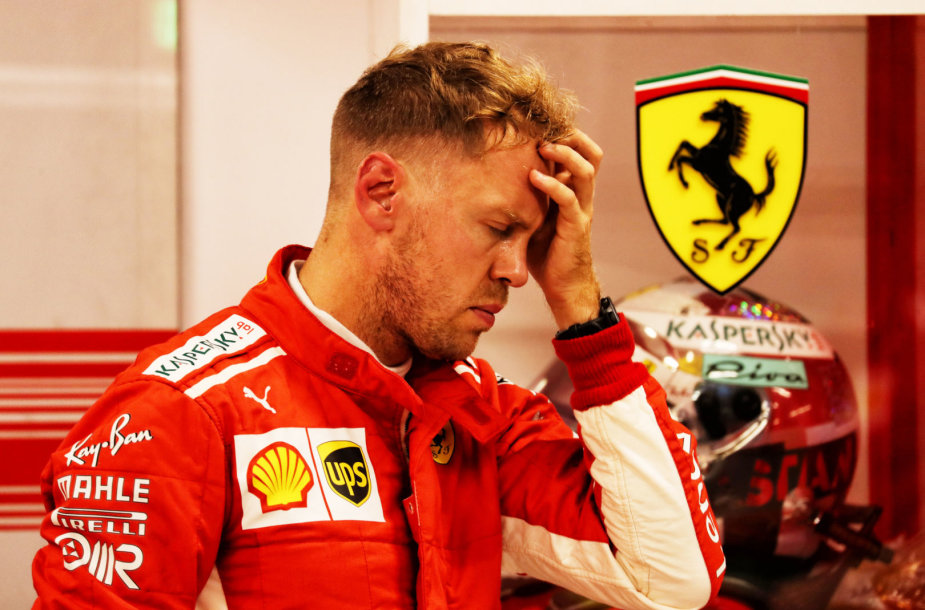 Sebastianas Vettelis Singapūro F1 GP