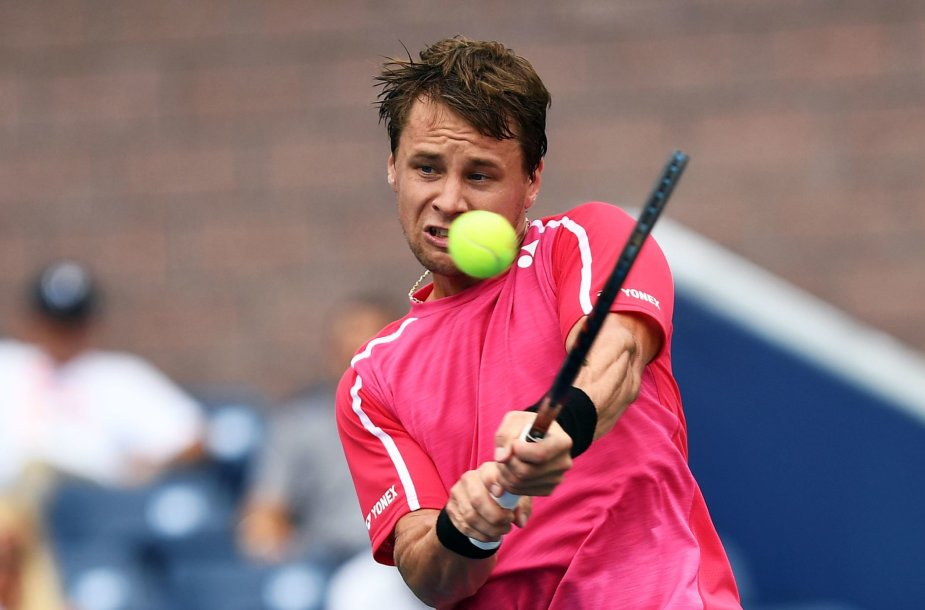 """Dominicas Thiemas """"US Open"""" turnyre nugalėjo Ričardą Berankį"""