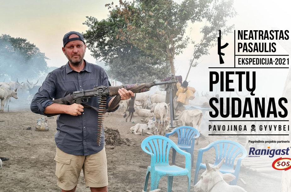 Danas Pankevičius Pietų Sudane