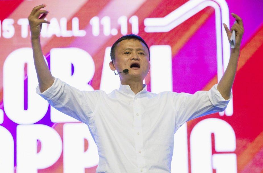 """22. """"Alibaba"""" generalinis direktorius Jackas Ma"""
