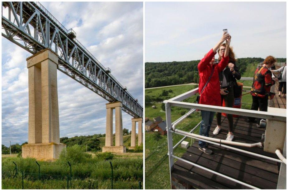 Lyduvėnų geležinkelio tiltas 2017 m. kelioms ekskursijoms buvo atvertas visuomenei