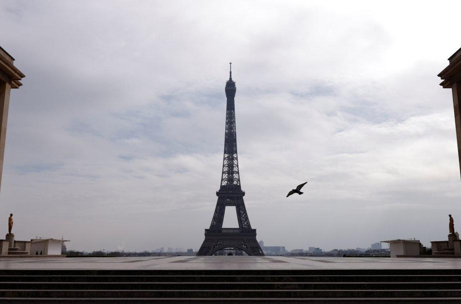 Karantinas Paryžiuje