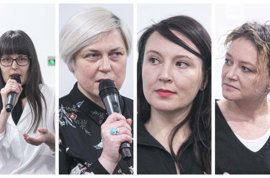 Asta Pakarklytė, Laima Kreivytė, Lina Kaminskaitė-Jančorienė, Goda Dapšytė