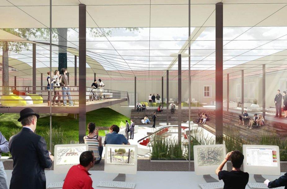 """Vilnius planuoja įkurti analogų Europoje neturintį technologijų miestelį """"Vilnius Tech Park"""""""