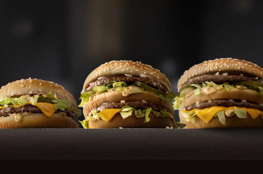 """""""Big Mac"""" mėsainiai"""