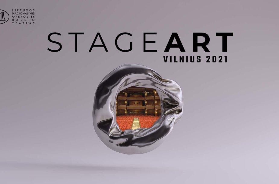 """scenos menų konferencija """"StageArt: Vilnius 2021"""""""
