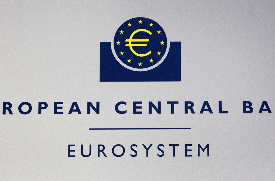 Europos centrinis banko (ECB) logotipas