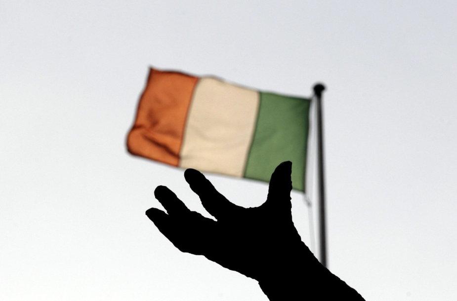Airijos vėliava Dubline