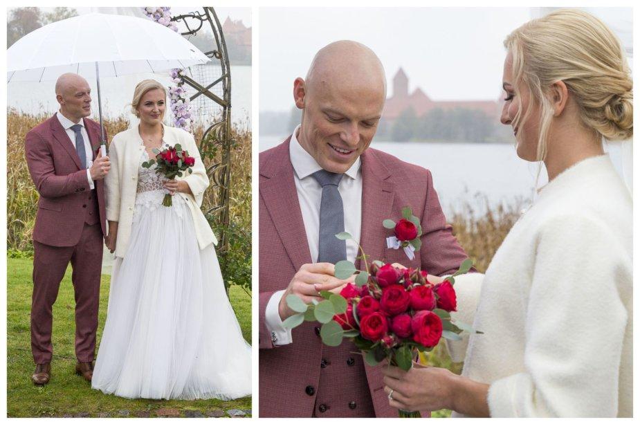 Emilijos Serapinaitės ir Igno Navakausko vestuvių akimirkos