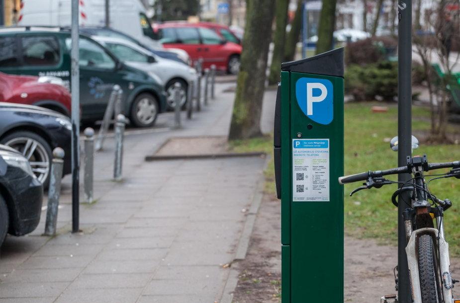 Parkavimo zona