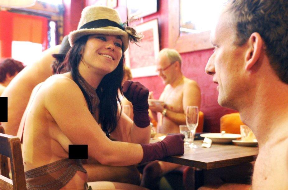 Restorane klientai galės būti ir nuogi, ir apsirengę.