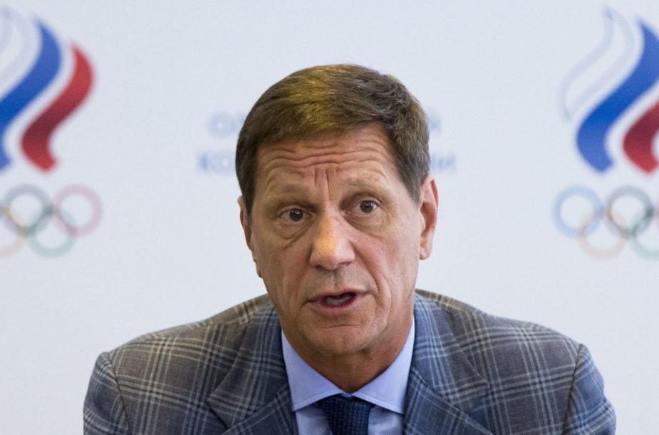 Rusijos olimpinio komiteto prezidentas Aleksandras Žukovas