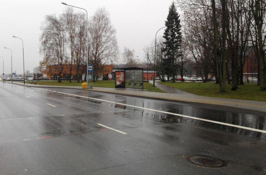 Geležinkelio stoties stotelė Klaipėdoje