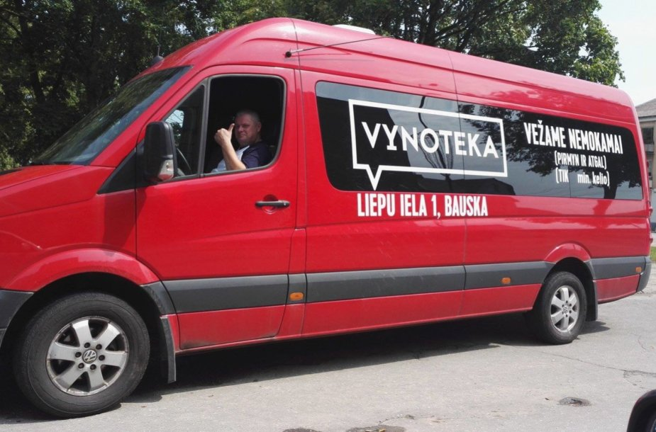 """Vynotekos"" autobusas"