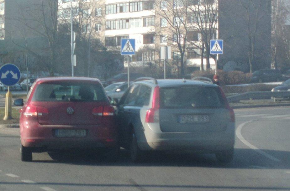 šv. Valentino dienos avarija Vilniuje
