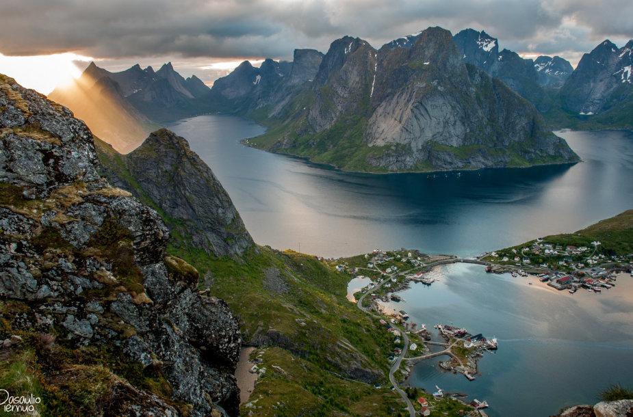 Kelionę į Lofoteno salas turėtų rinktis gamtos mylėtojai