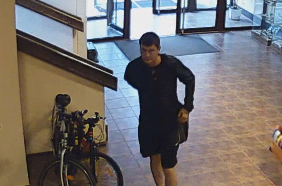 Prašoma padėti atpažinti įtariamąjį dviračio vagyste