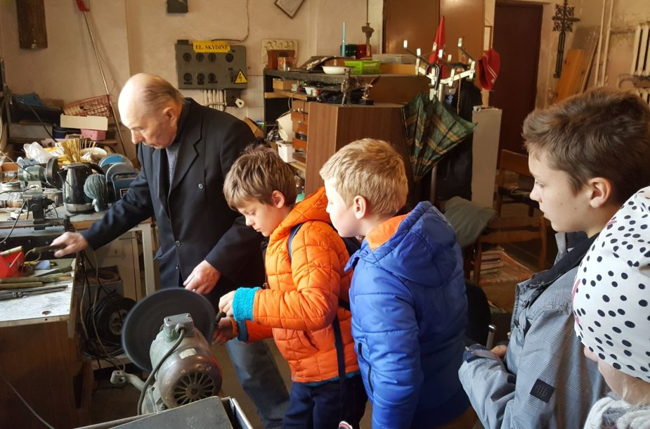 Klaipėdos turizmo ir informacijos centras surengė pirmąją jaunųjų gidų mokyklėlė