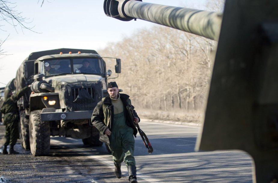 Rusijos teroristų sunkioji ginkluotė
