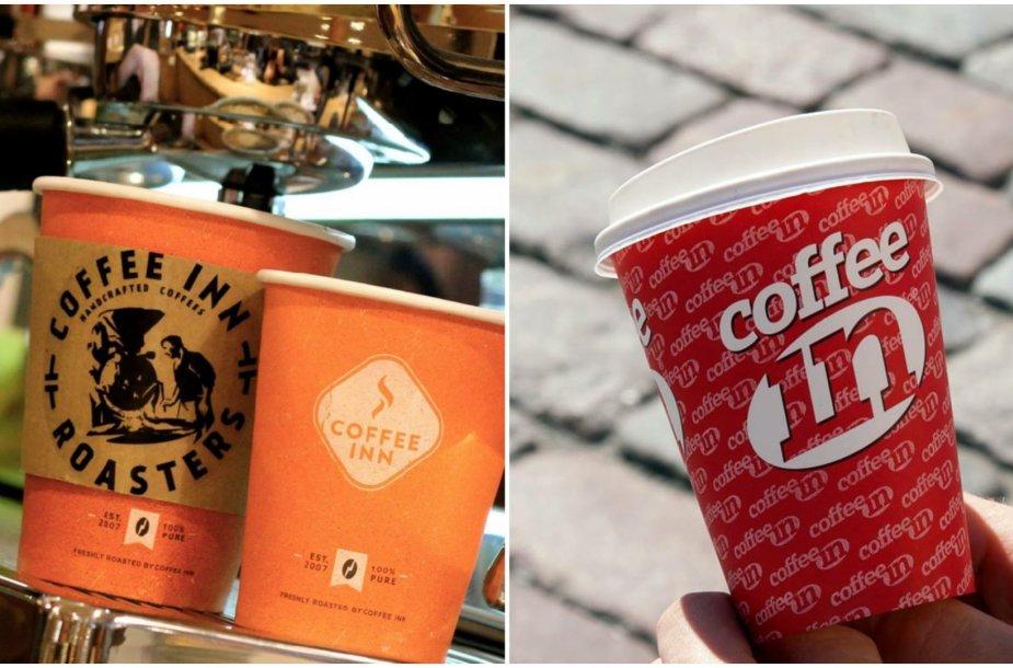 """Lietuviškas """"Coffee Inn"""" ir estiškas """"Coffee In"""""""