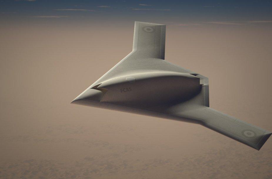 FCAS drono konceptas