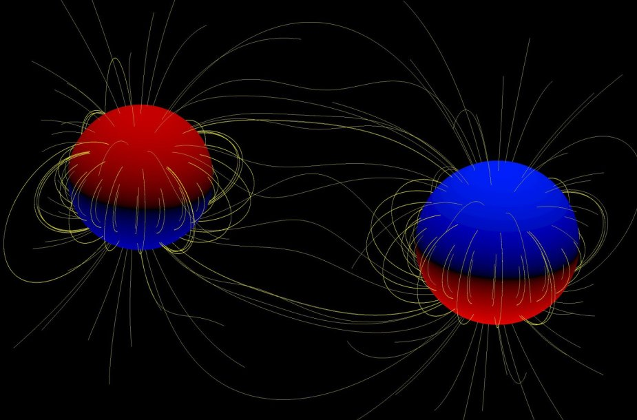 Žvaigždės su magnetiniais laukais