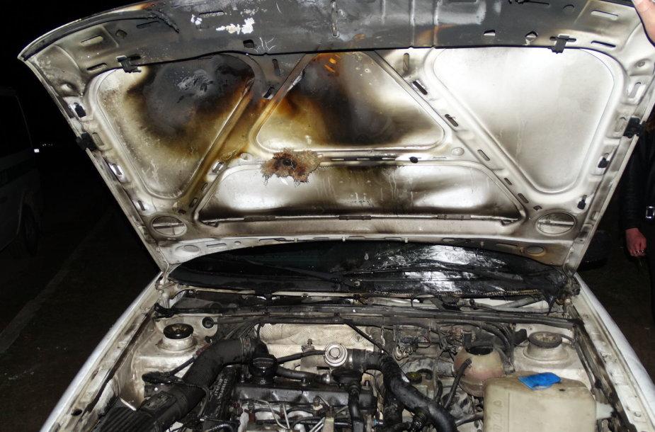 """Padegtas \""""Volkswagen Passat\"""""""