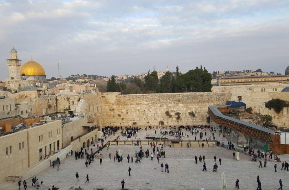Jeruzalės senamiestis/ G.Stankunaitės asmeninio archyvo nuotr.