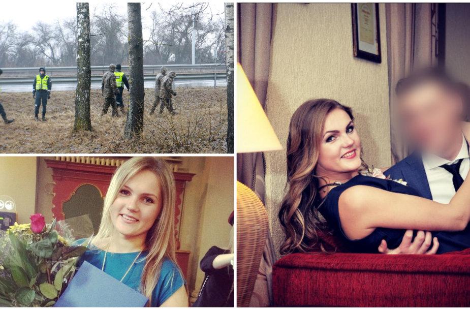 Ieškoma Ieva Strazdauskaitė