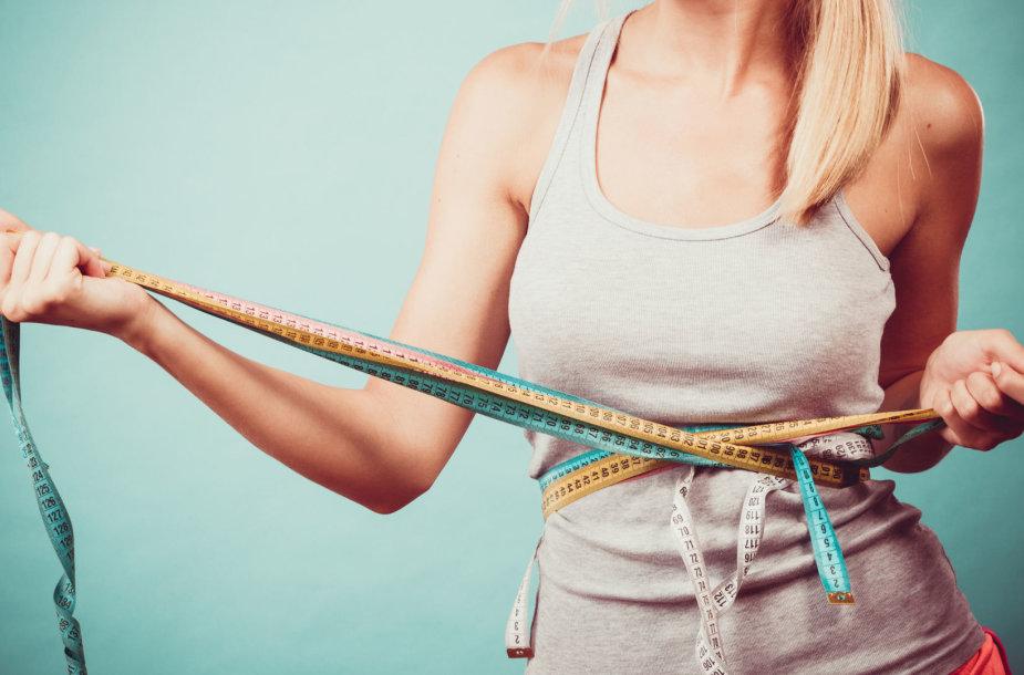 Kodėl moteriai sunkiau numesti svorio nei vyrui?