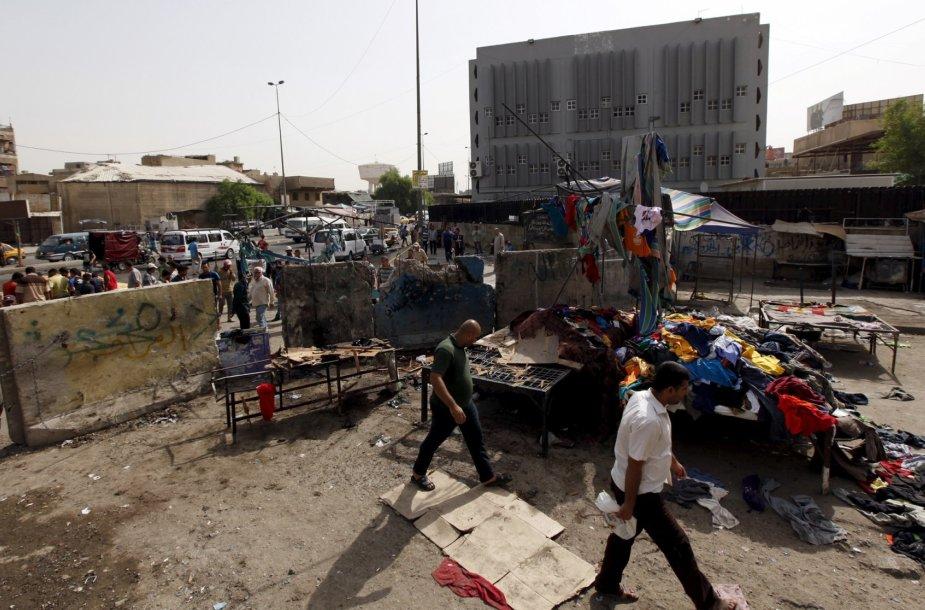 Mirtininkų atakos vieta Bagdade