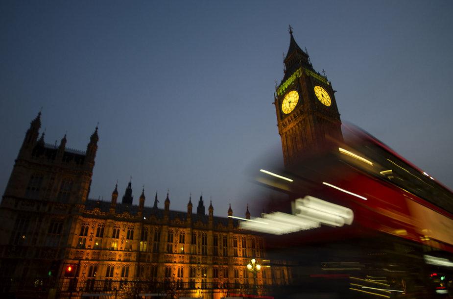 Diaukštis autobusas Londone