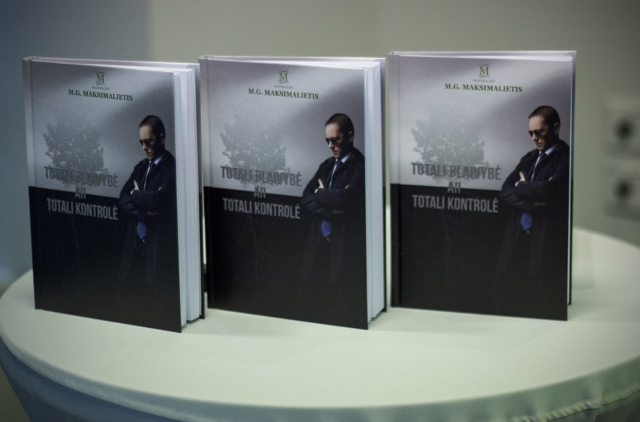 "Knyga ""Totali Blaivybė ar Totali Kontrolė"""