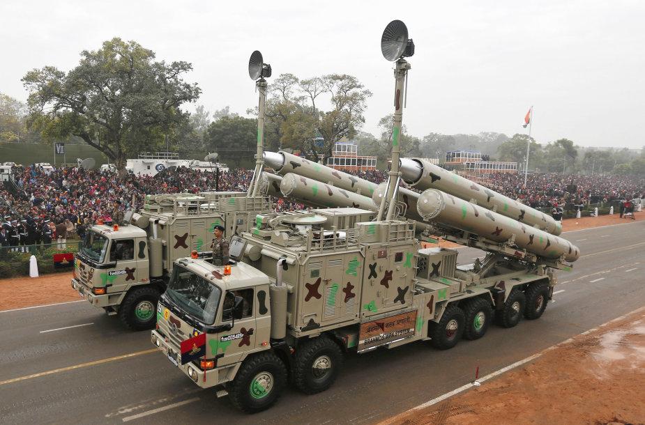 """Indijos ginklų sistema """"BrahMos"""""""
