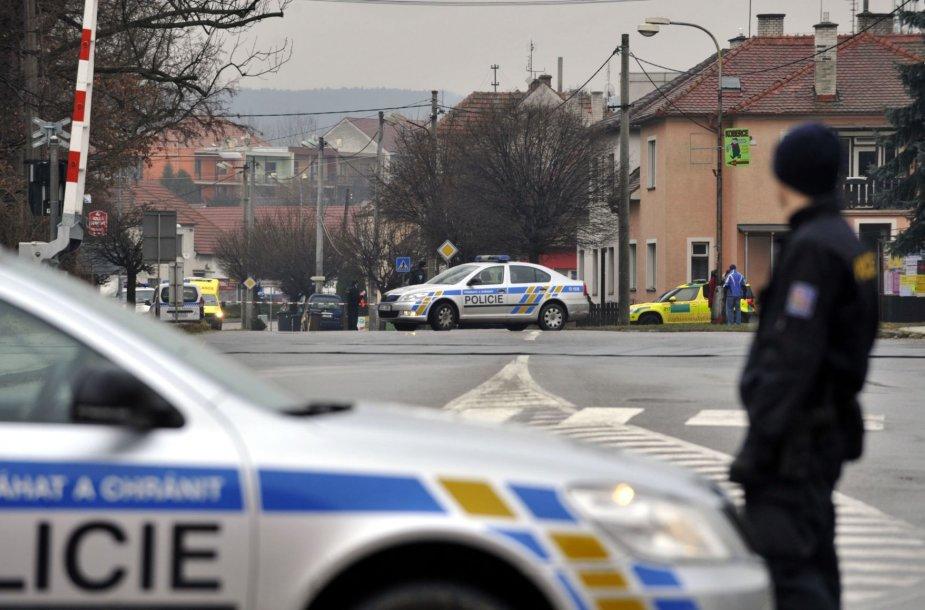 Čekijos policija