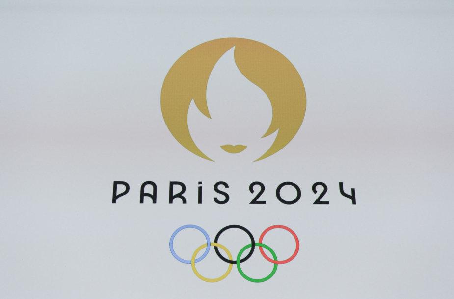 Pristatytas olimpinių žaidynių Paryžiuje ženklas.