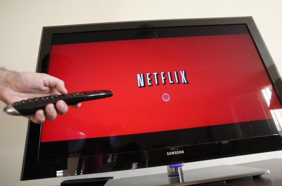 """Tikimasi, kad """"Netflix"""" pasirodžius Lietuvoje piratinio turinio sumažės"""