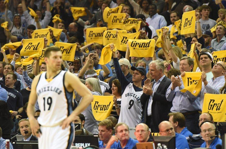 "NBA: ""Memphis Grizzlies"" – ""Portland Trail Blazers"" (antros serijos rungtynės)"