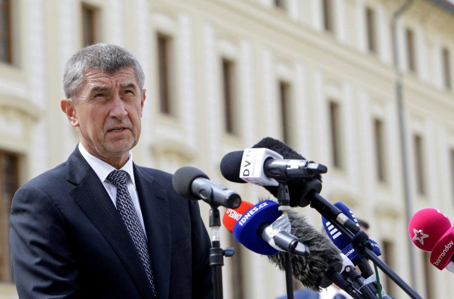 Čekijos milijardierius Andrejus Babišas