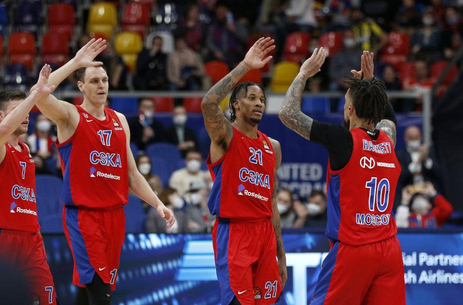 Maskvos CSKA – pirmoji Eurolygos finalo ketverto dalyvė