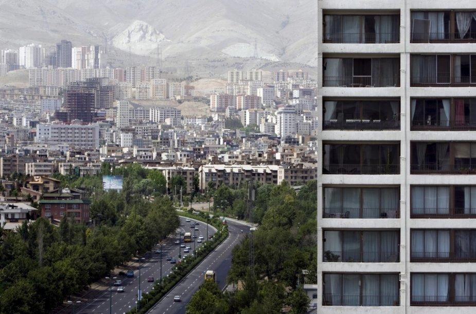 Irano sostinė Teheranas