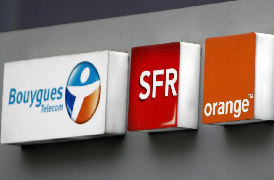 """""""Orange"""" ir """"Bouygues"""" derasi dėl susijungimo"""