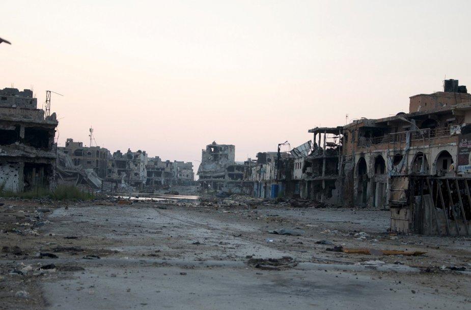 Karo suniokota Libija