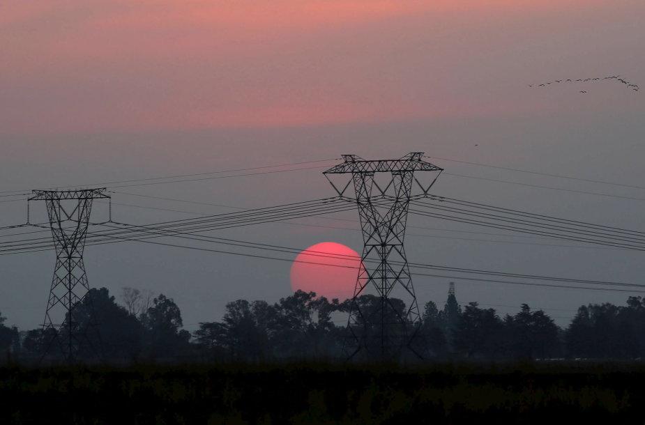 Elektros perdavimo linijos PAR