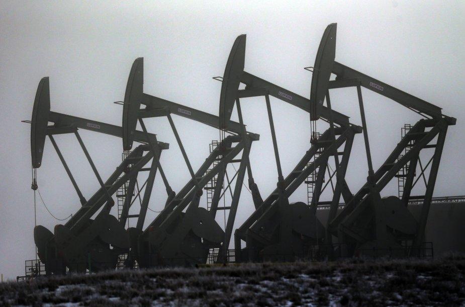 Naftos išgavimas Šiaurės Dakotoje