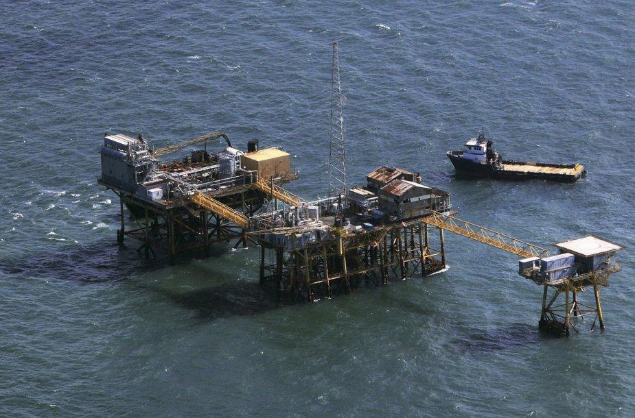 Naftos gręžinys Luizianoje