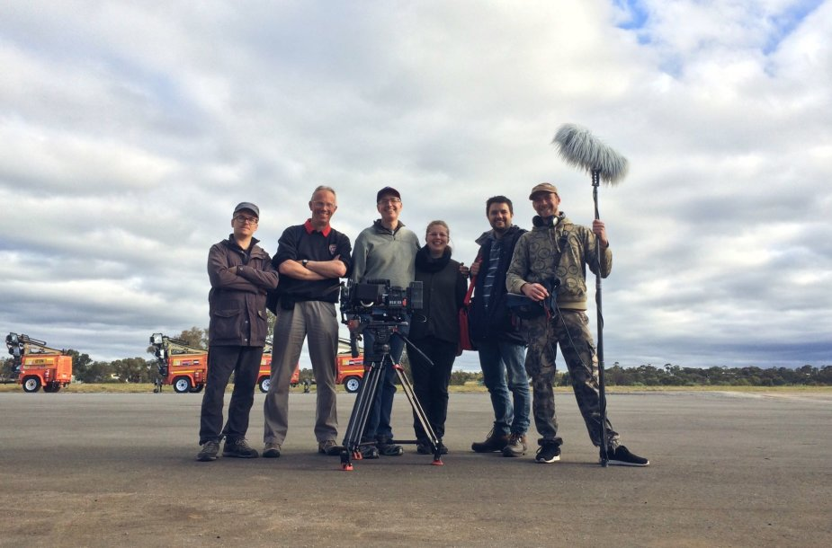 Filmo komanda su oreiviai