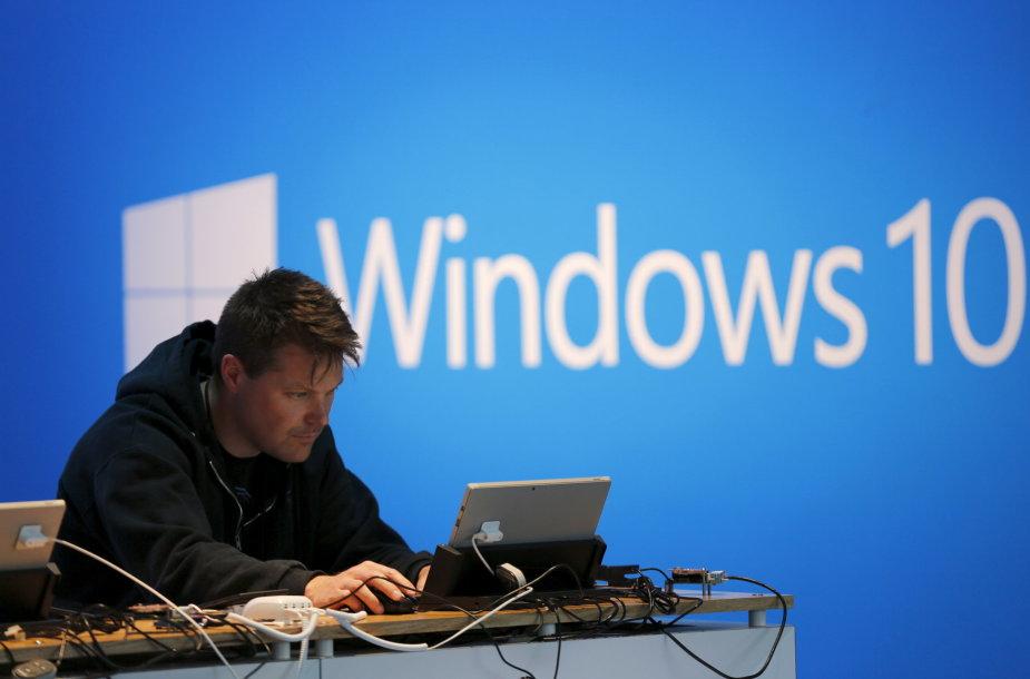 """""""Windows 10"""" bus paskutinė """"Microsoft"""" operacinės sistemos versija"""