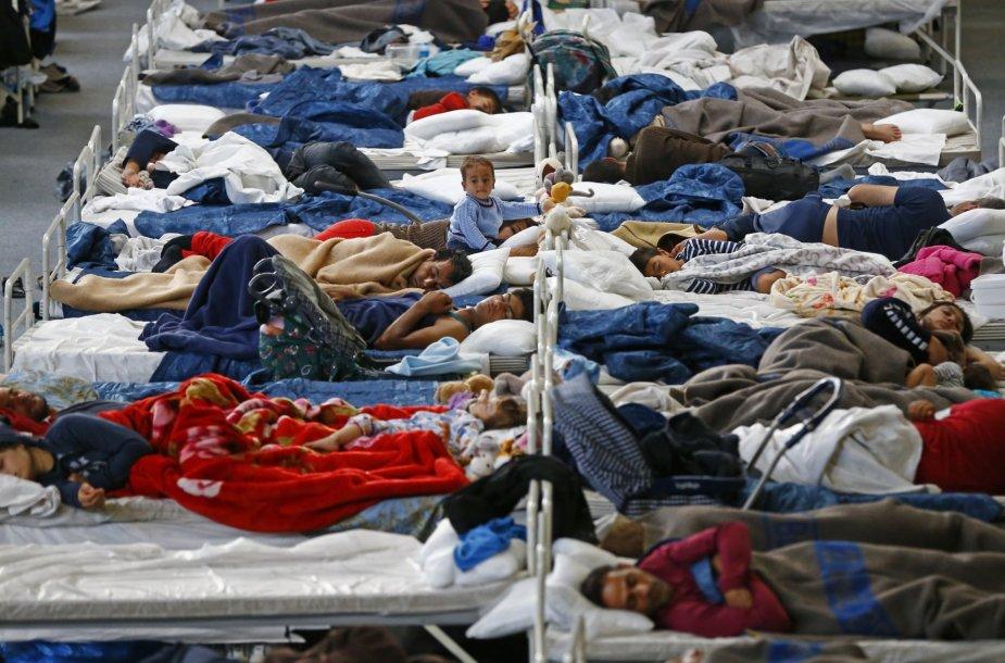 Migrantų priėmimas Vokietijoje