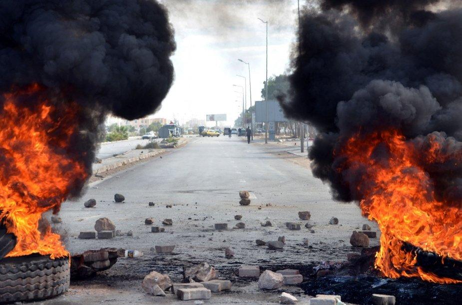 Protestai Tunise